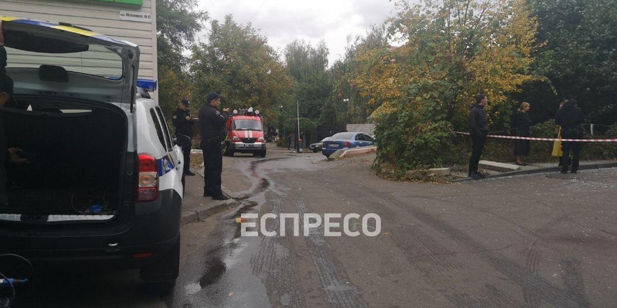 В столице на Лукьяновке произошел взрыв
