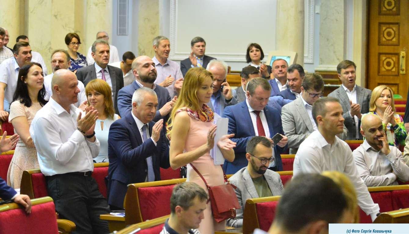 В Верховной Раде процветает законодательный спам. Источник фото – сайт парламента