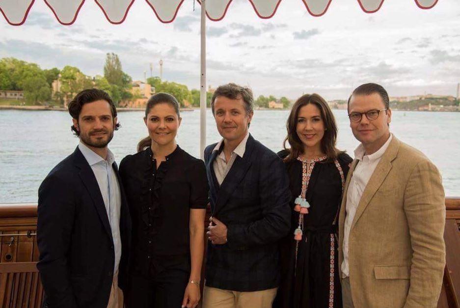 Принцесса Дании Мари надела наприем украинскую вышиванку