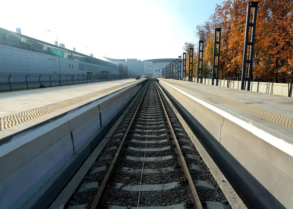 Вглобальной web-сети показали новый электровоз Киев-Борисполь