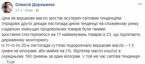 В Украине стремительно дорожают три стратегические продукта