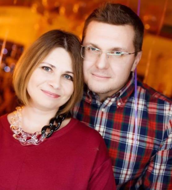 Иван Баканов и Оксана Лазаренко