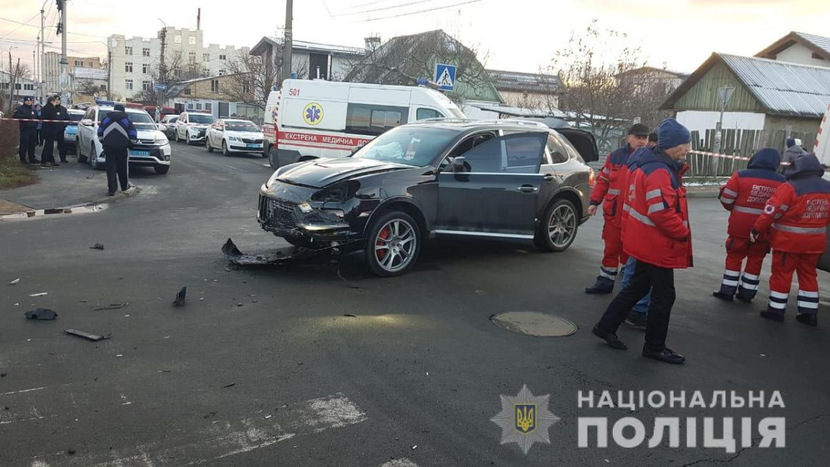 Жуткая авария под Киевом