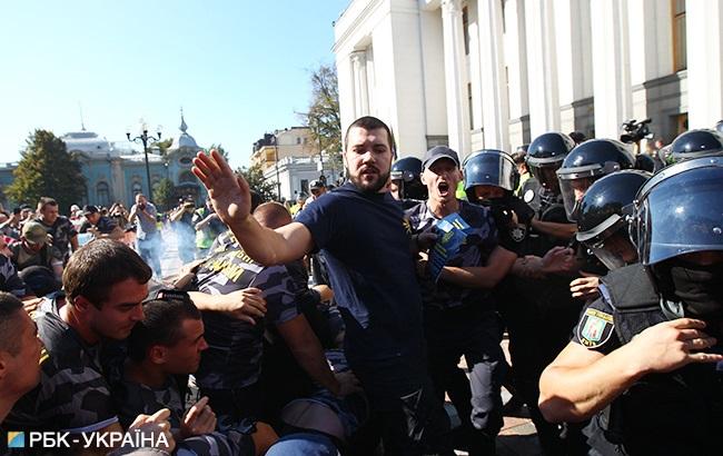 Руководитель штаба Нацкорпуса Родион Кудряшов