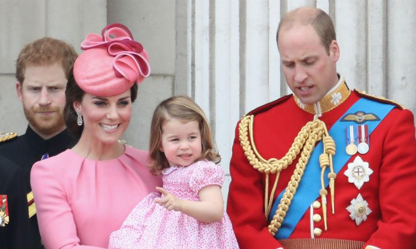 Кейт Миддлтон, принц Уильям, принцесса Шарлотта