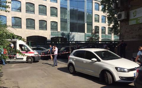 Пострадавший получил ранение вголову— Стрельба вКиеве
