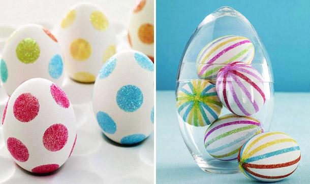 Как расписать пасхальные яйца своими руками