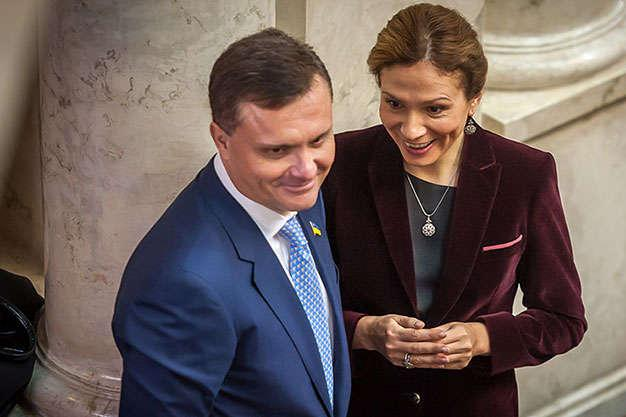 Сергей и Юлия Левочкины