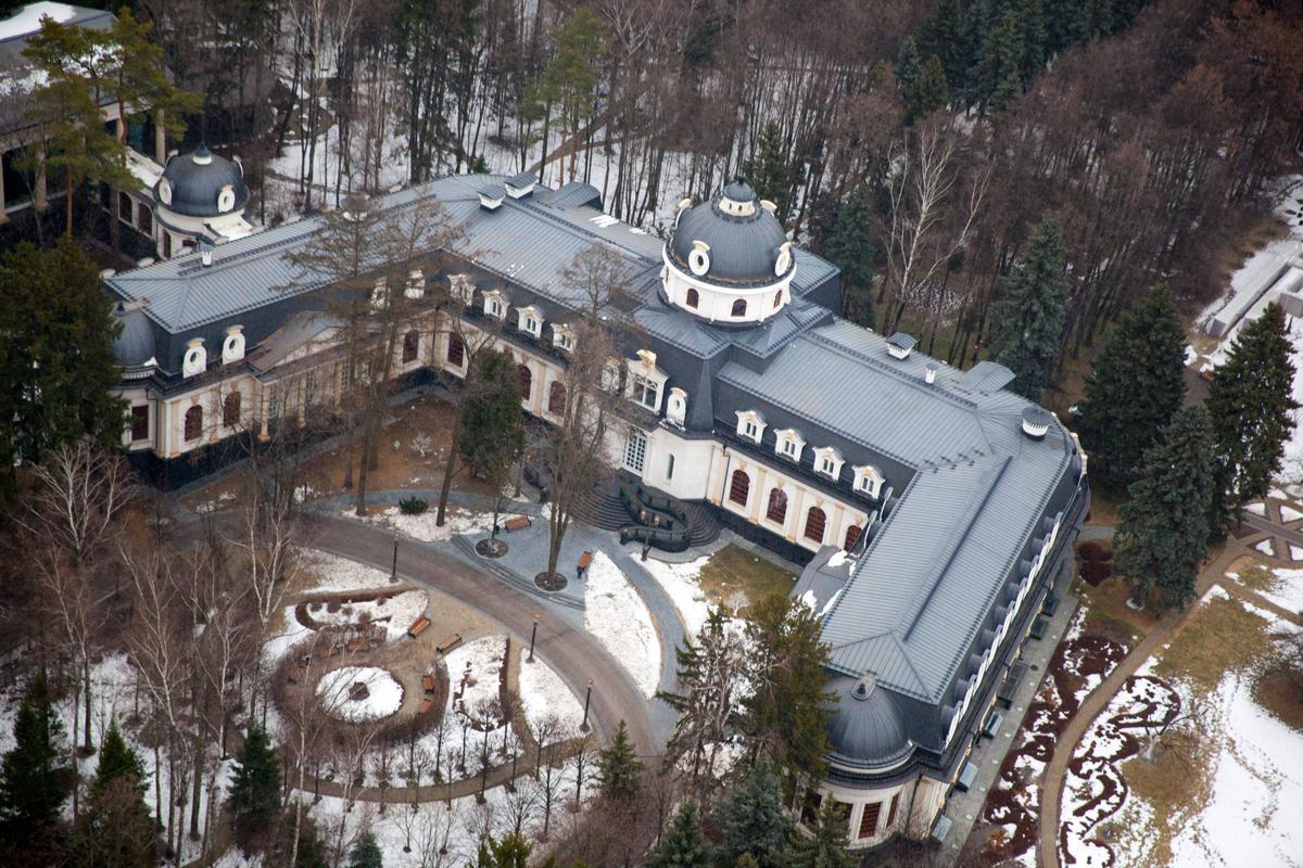 Загородные дома политиков россии