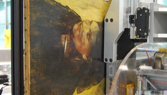 Искусствоведы отыскали  спрятанный под слоем краски портрет великого художника