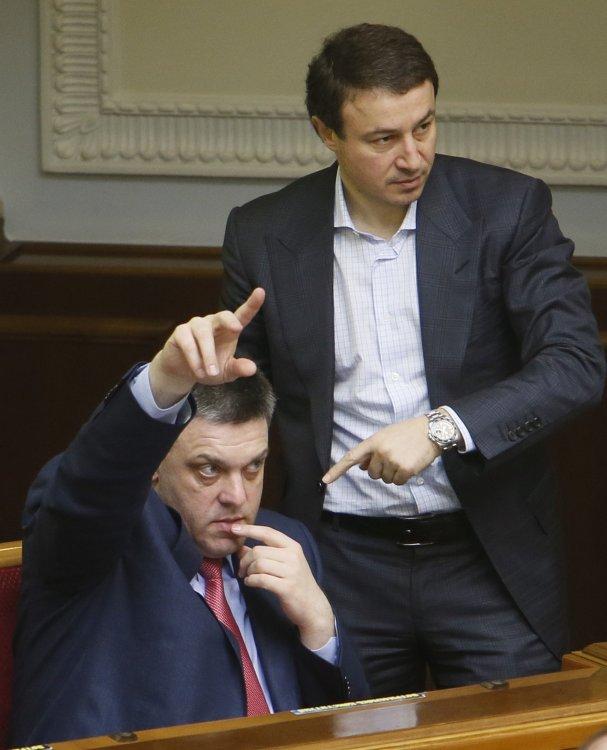 Олег Тягнибок и Игорь Кривецкий