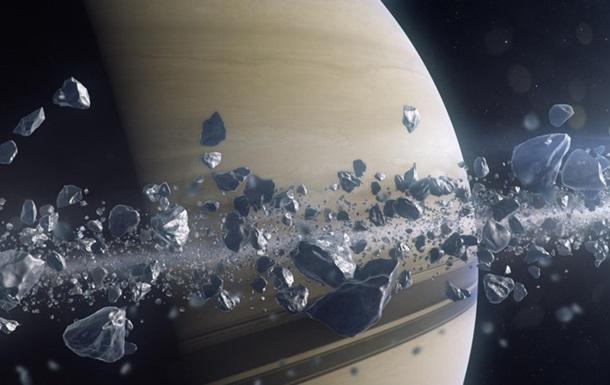 Планета-самоед: Сатурн пожирает собственные кольца— Hi-Tech Mail.Ru