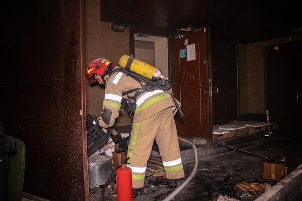 Пожарные быстро ликвидировали возгорание