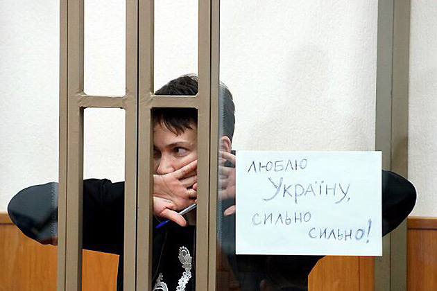 Савченко угрожает начать сухую голодовку уже сегодня - Цензор.НЕТ 6358