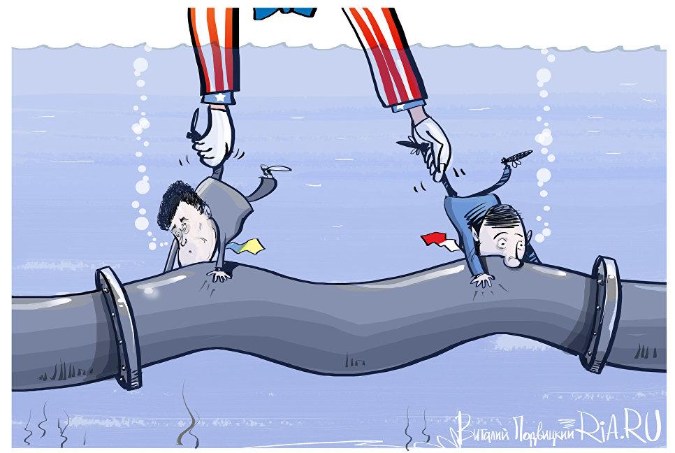 Госдеп США предрек провал экономики государства Украины после возведения «Северного потока-2»