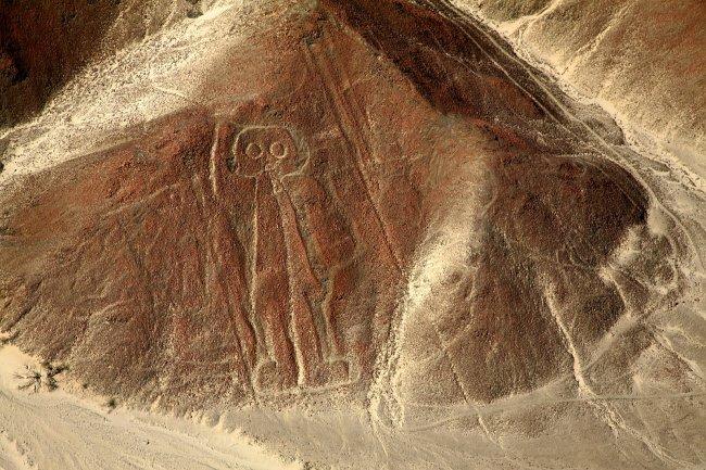Геоглифы Наска не могли расшифровать долгое время Фото: Naked Science