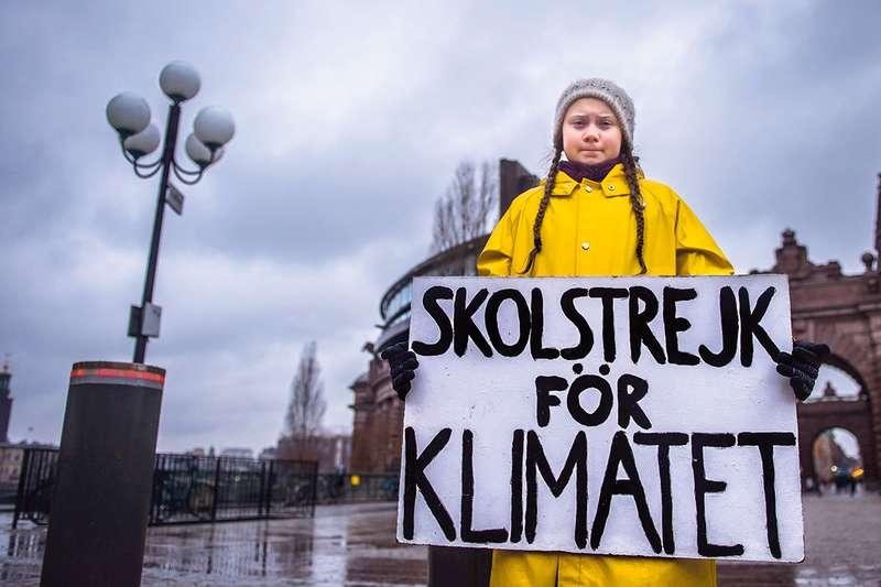 Шведскую школьницу выдвинули наНобелевскую премию— она бойкотировала учебу из-за глобального потепления