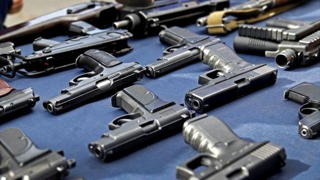 Нелегальное оружие в Украине. Георгий Учайкин (УАВЗ)