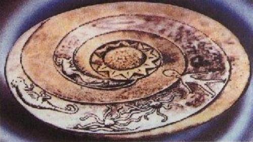 Артефакт с изображением инопланетянина