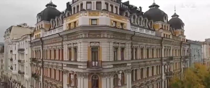 Дом в центре Киева, в котором проживает мэр столицы Кличко