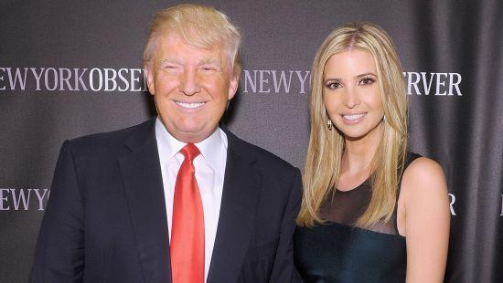 Трамп cпутал дочь с сторонней дамой