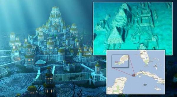 Надне Атлантического океана обнаружили загадочный старинный город