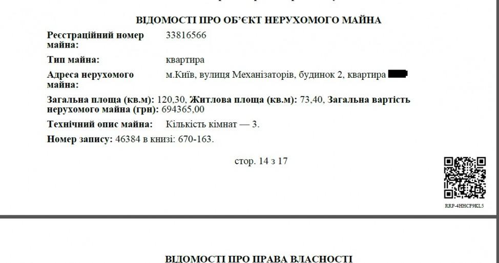 Чиновница из специализированной операции НАБУ оформила намать квартиру за3 млн грн