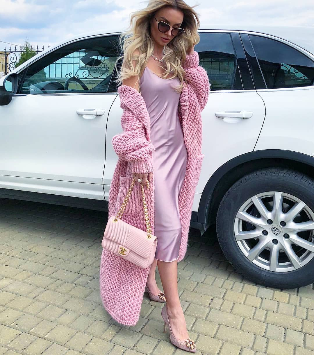 модные вязаные вещи осень зима 2018 2019 фото
