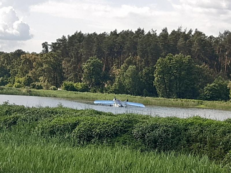 Обнаружен загадочно исчезнувший в Киевской области самолет