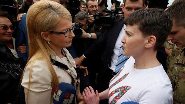 Тимошенко: «Батьківщина» небудет инициировать лишение Савченко мандата