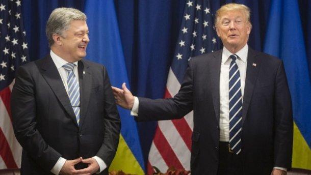 Порошенко иТрамп начали встречу наполях Генассамблеи ООН