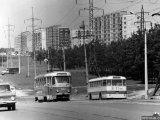 Улица Миропольская, 1968 год, вид на Лесной массив.
