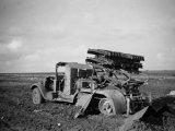 Радянська реактивна установка БМ-8-36, знищена під Харковом у 1942 році / Фото: memory.gov.ua