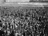 Полонені червоноармійці в таборі Уманська Яма, 1941 рік / Фото: memory.gov.ua