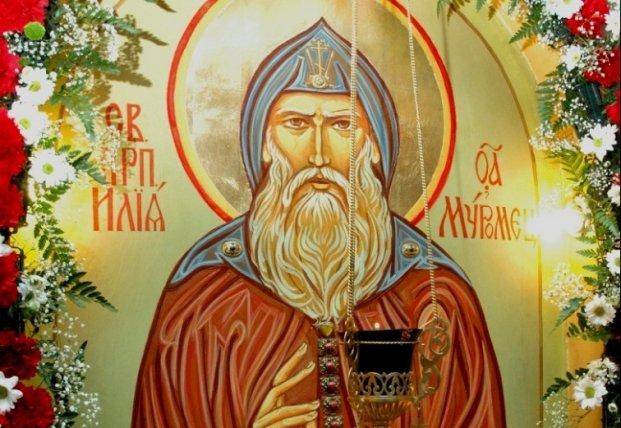 Память Преподобного Илии Муромца Печерского