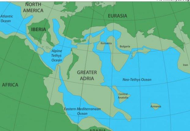 Геологи обнаружили под Средиземным морем потерянный континент