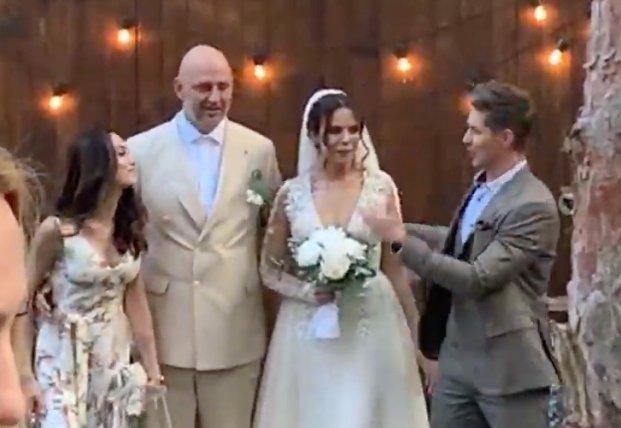 Он-лайн: свадьба Потапа и Насти
