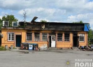 Под Киевом сожгли магазин депутата (фото)