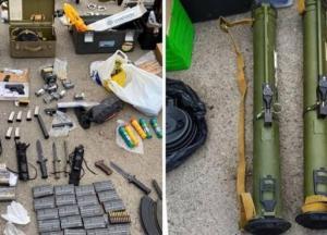 В Харькове обнаружили огромный склад оружия (фото)