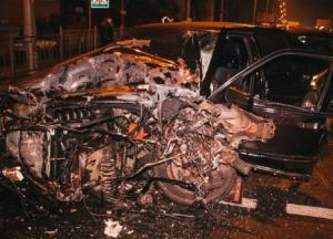 Под Киевом неадекват на скорости выше 100 км/час разгромил пять авто