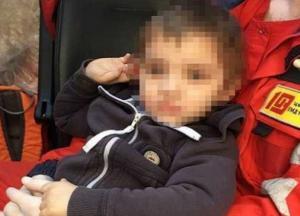 В Харькове посреди улицы нашли двухлетнего малыша (фото)
