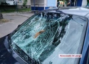 """В Николаеве водитель """"под кайфом"""" сбил насмерть студентку: появилось видео с камер наружного видеонаблюдения"""