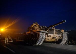 Турция начала переброску войск на территорию Сирии (видео)