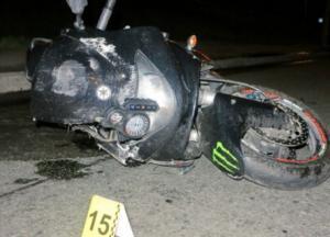 Гибель байкера в Киеве: появились фото с места аварии