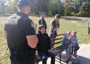 В Киеве мужчина пытался похитить в парке ребенка на глазах у матери