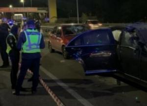 В Киеве подорвали автомобиль известного бизнесмена, есть жертвы (видео)