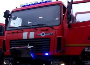 В Одессе загорелся детский сад (видео)