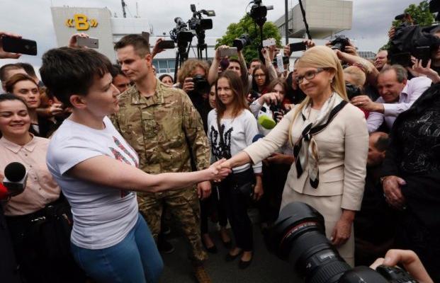 Дороги Батькивщины иСавченко разошлись— Тимошенко
