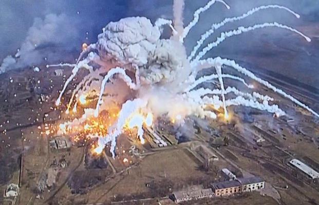 Балаклея и другие. Когда и где в Украине взрывались склады боеприпасов
