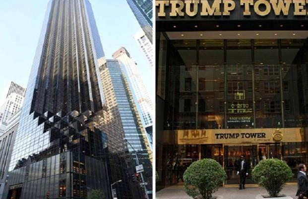 Появились фото пентхауса Трампа вНью-Йорке— Невиданна роскошь
